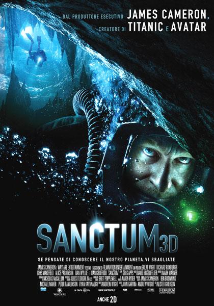 locandina Sanctum 3D streaming ITA 2011