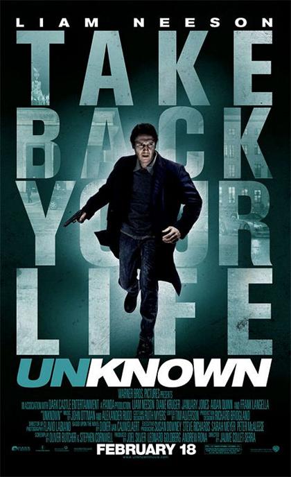 Poster 1 unknown senza identit for Senza identita trailer