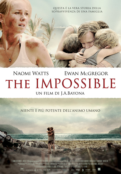 Guarda gratis The Impossible in streaming italiano HD