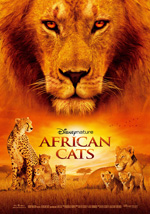 Locandina African Cats: Kingdom of Courage