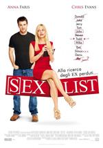 Locandina Sexlist