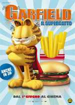Poster Garfield il Supergatto  n. 0