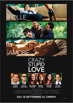 Locandina italiana Crazy, Stupid, Love