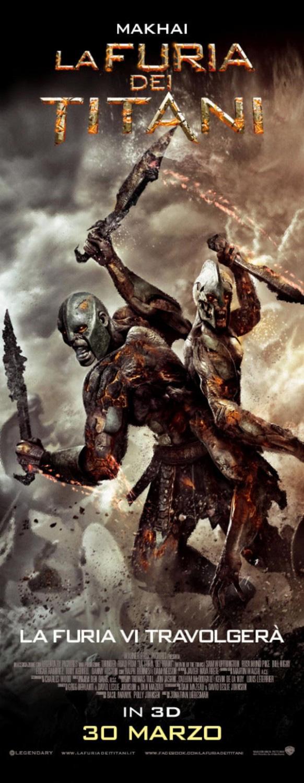 Poster La furia dei titani