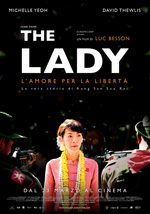Locandina The Lady - L'amore per la libert
