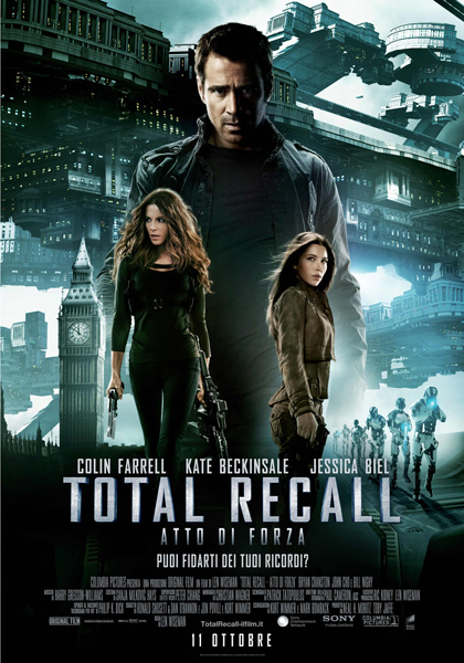 Guarda gratis Total Recall – Atto di forza in streaming italiano HD