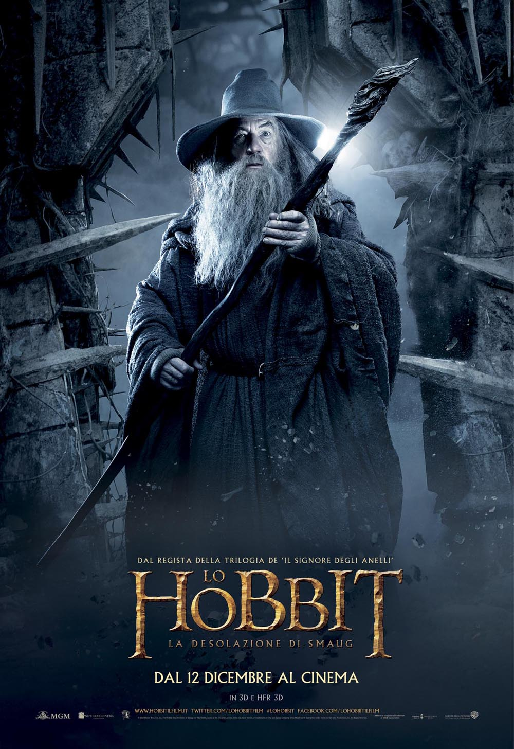 Poster 4 - Lo Hobbit - La desolazione di Smaug Necromancer Hobbit Desolation Of Smaug