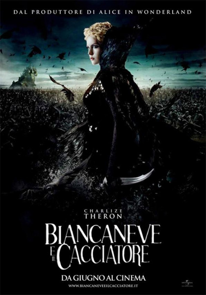 Guarda gratis Biancaneve e Il Cacciatore in streaming italiano HD