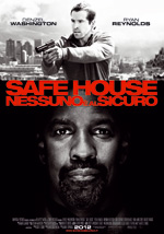 Locandina italiana Safe House - Nessuno � al sicuro