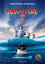 locandina Happy Feet 2 in 3D