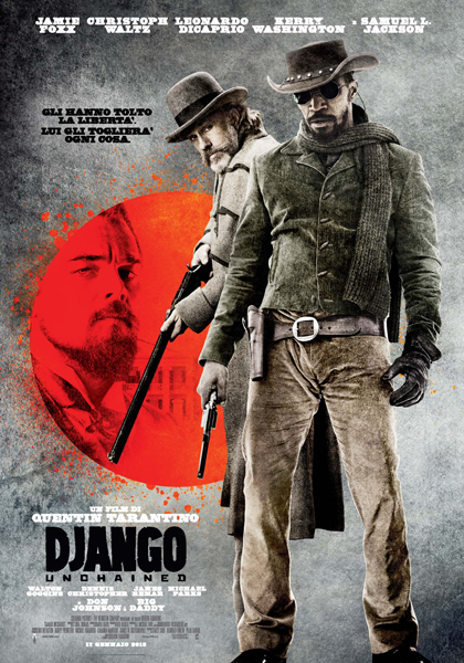 Django Unchained 2012 (TORRENT) Poster