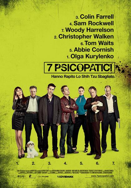 Trailer 7 Psicopatici
