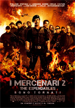 Locandina italiana I mercenari 2