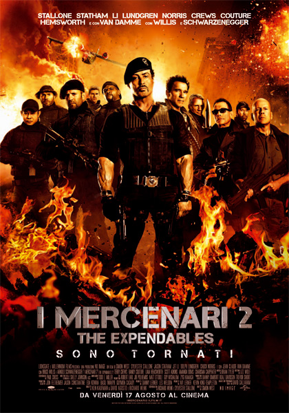 Guarda gratis I mercenari 2 in streaming italiano HD