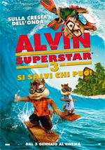 Locandina Alvin Superstar 3 - Si salvi chi pu�!
