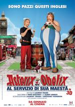 Locandina Asterix e Obelix al servizio di sua Maest�