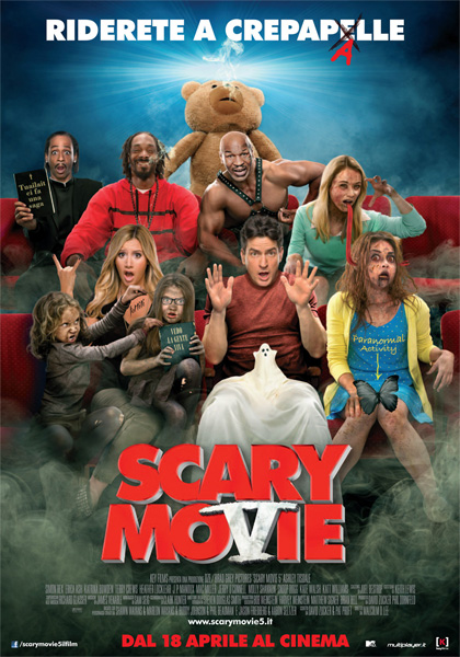 Guarda gratis Scary Movie 5 in streaming italiano HD