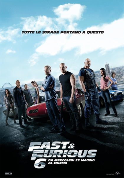 Guarda in streaming Fast & Furious 6 e scarica il Torrent ITA