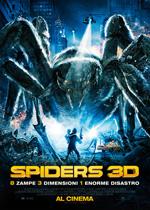Locandina Spiders 3D