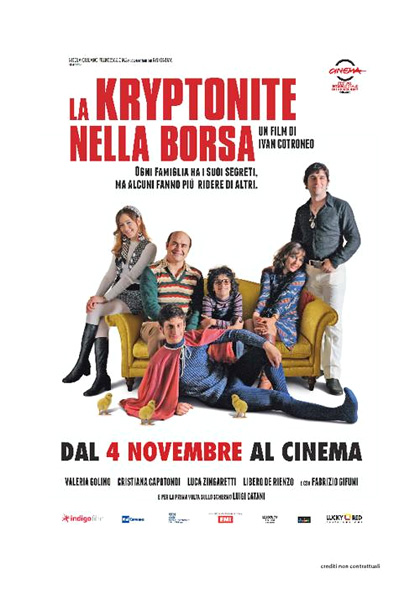 la kryptonite nella borsa film