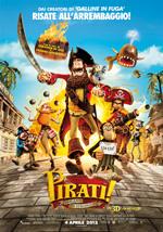 Locandina Pirati! Briganti da strapazzo 3D