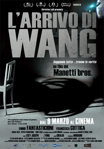 Locandina L'arrivo di Wang