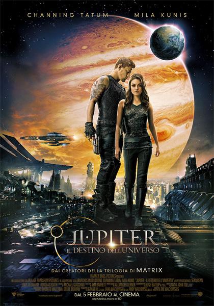 Jupiter – Il destino dell'universo in streaming & download
