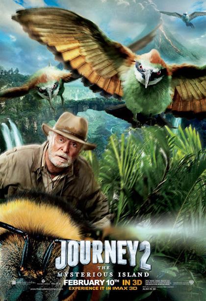 Poster Viaggio nell'isola misteriosa