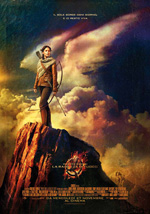 Locandina italiana Hunger Games - La ragazza di fuoco