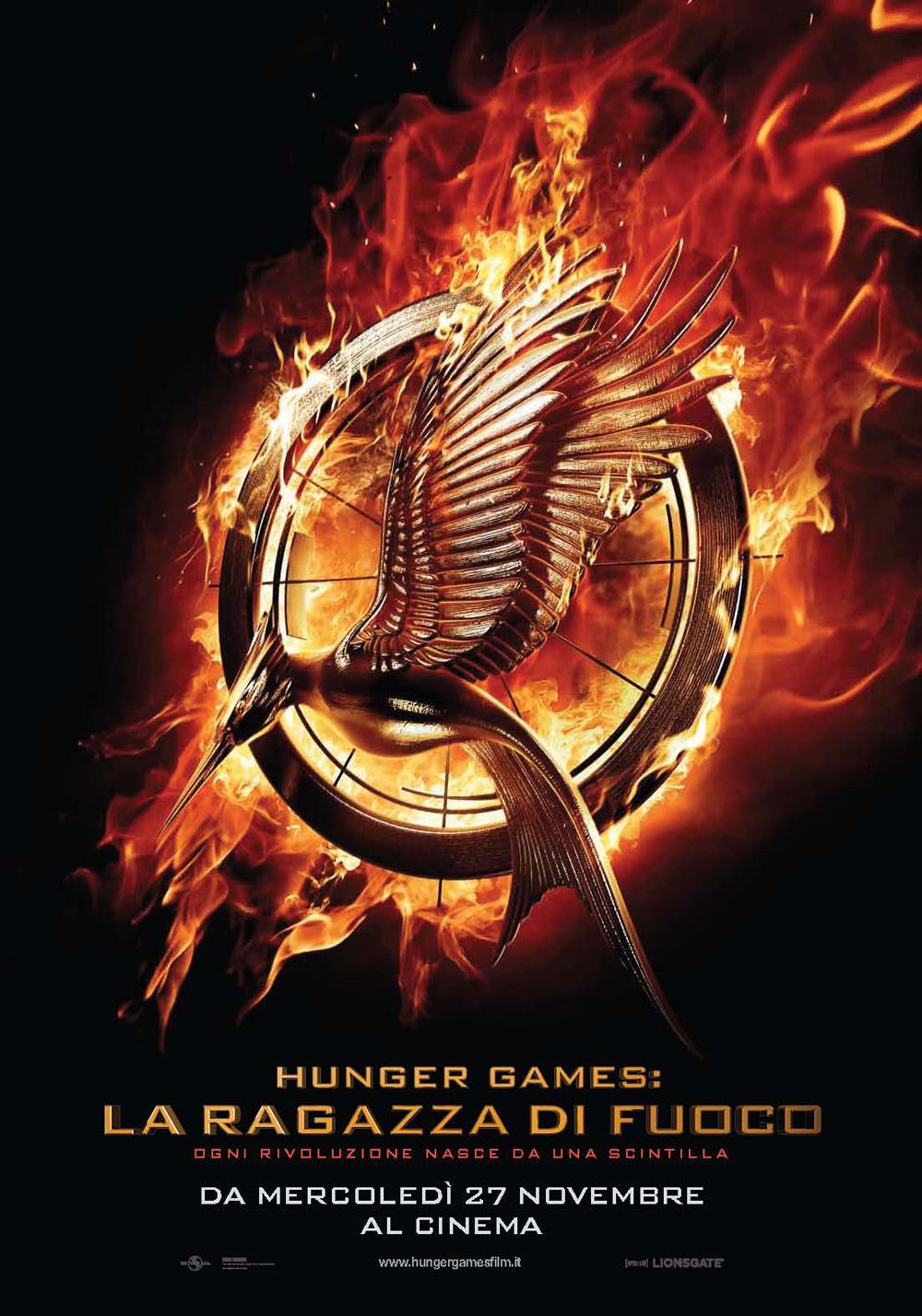 Locandina Hunger Games – La ragazza di fuoco