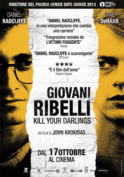 Locandina italiana Giovani ribelli - Kill Your Darlings