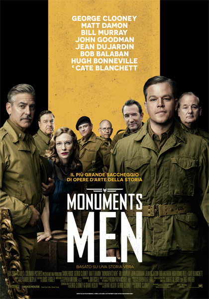 Locandina Monuments Men