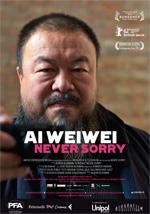 Locandina Ai Weiwei - Never Sorry