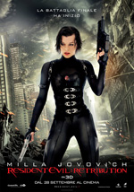 Locandina Resident Evil: Retribution