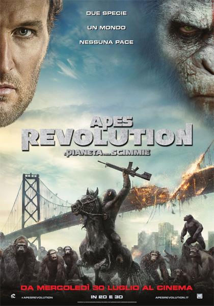 Apes Revolution – Il pianeta delle scimmie in streaming & download