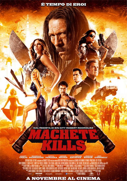 Guarda gratis Machete Kills in streaming italiano HD