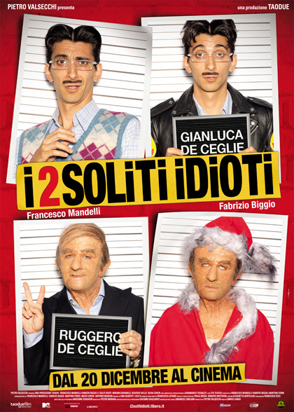 Guarda gratis I Due Soliti Idioti in streaming italiano HD