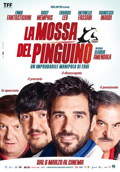 Locandina italiana La mossa del pinguino