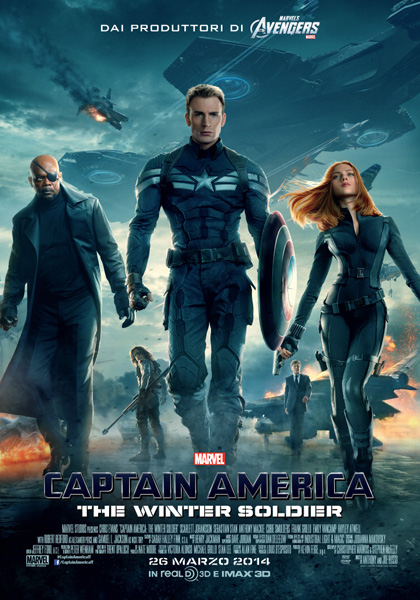 Locandina Captain America: The Winter Soldier