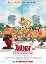 Locandina Asterix e il regno degli Dei
