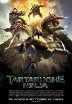 Locandina Tartarughe Ninja