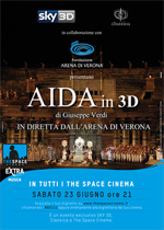Locandina Aida in 3D