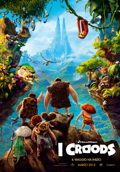 Guarda gratis I Croods in streaming italiano HD