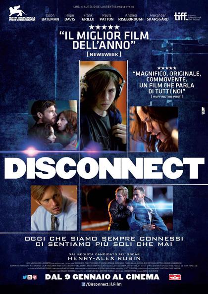 Locandina italiana Disconnect