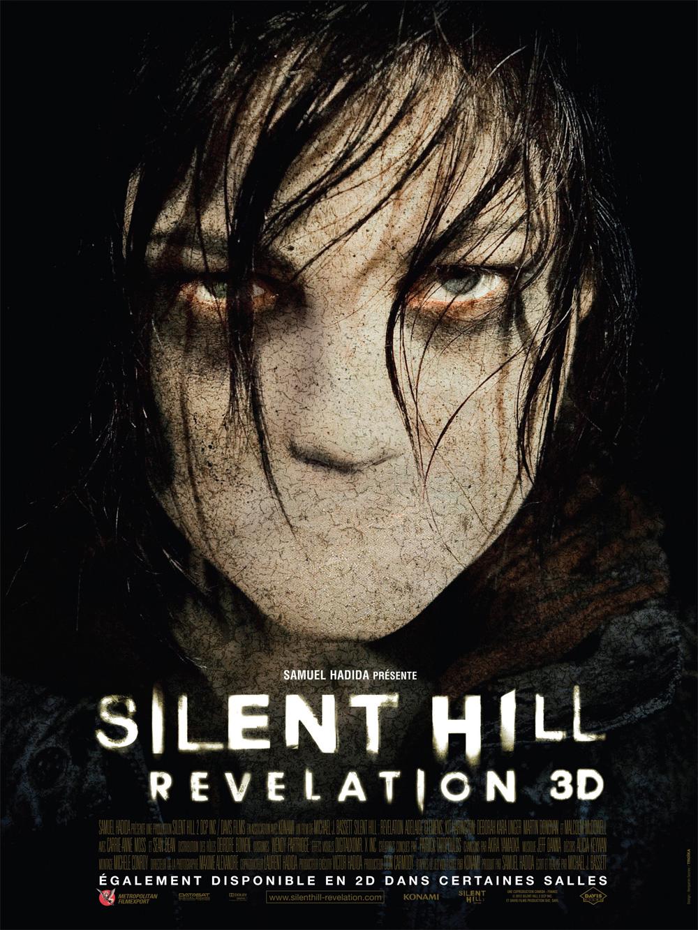 Locandina Silent Hill: Revelation