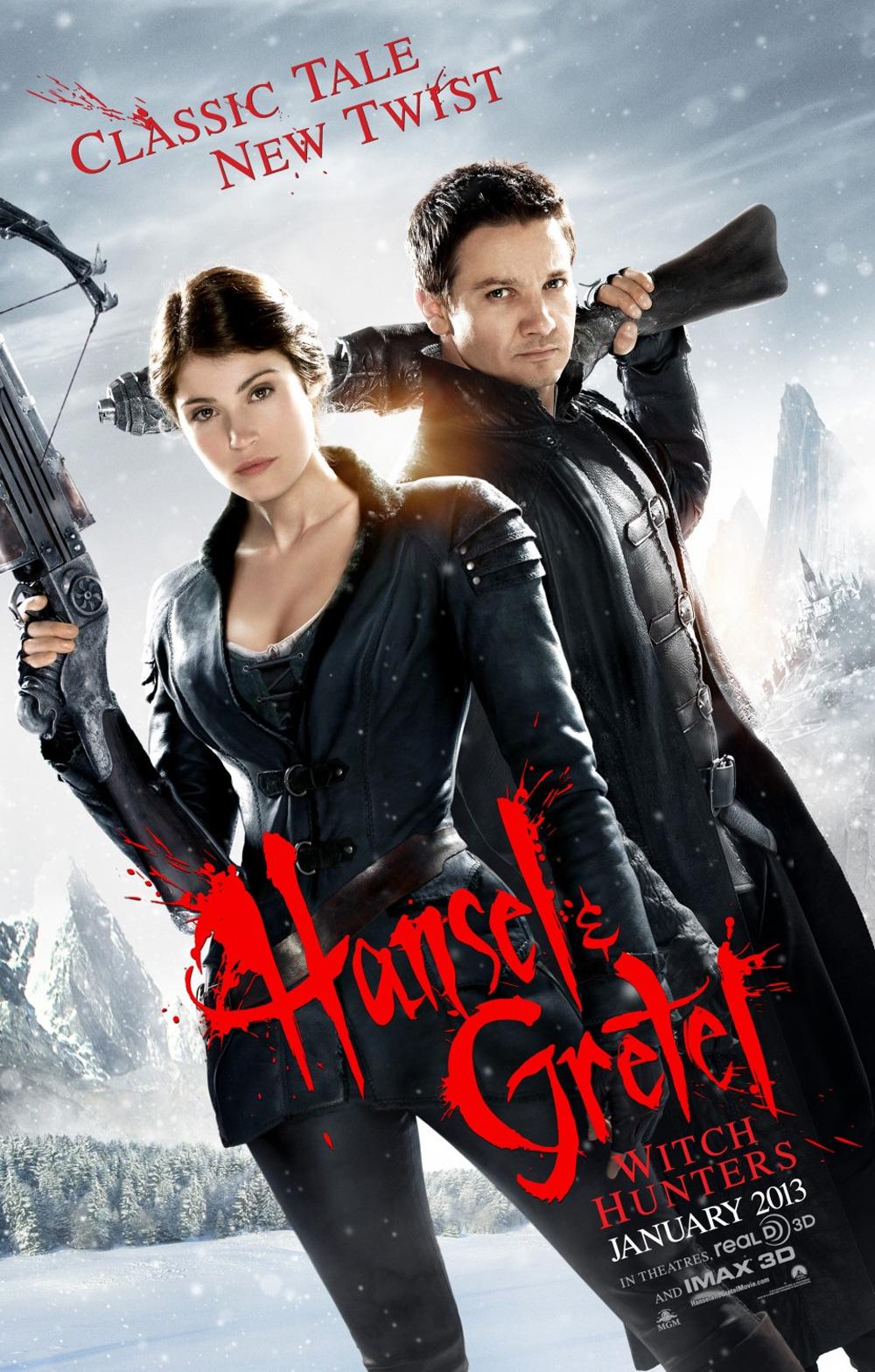Locandina Hansel & Gretel – Cacciatori di streghe
