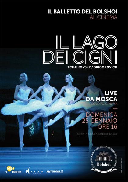 Il balletto del Bolshoi: Il lago dei cigni in streaming & download