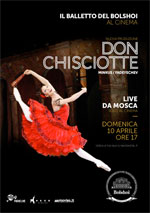 Locandina Il balletto del Bolshoi: Don Chisciotte