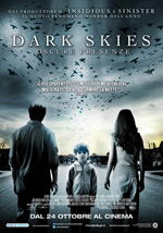 Locandina Dark Skies - Oscure Presenze