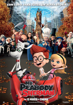 Locandina Mr. Peabody e Sherman